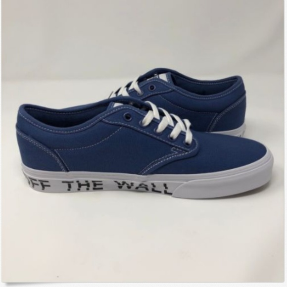 e1e78de30a Vans Mens 9 Shoes Sneakers Atwood Off The Wall NEW